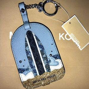 Michael Kors Surf Luggage Tag